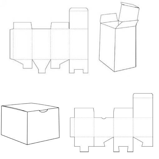 Basisstructuren van doosjes