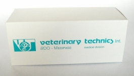 bedrukt medicijndoosje veterinair dierengeneesmiddel