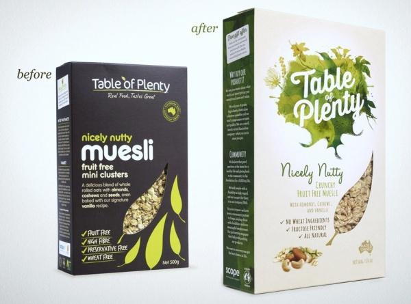 verpakking maken Muesli
