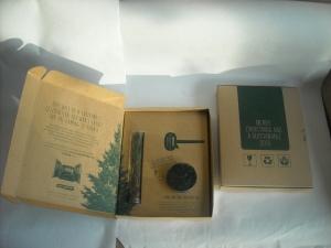 doosje kraft voor mailing kerstboom