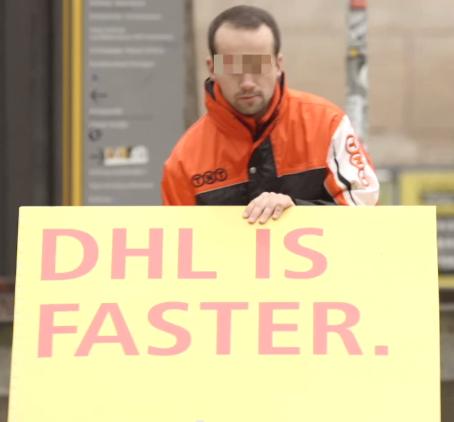 DHL verpakking