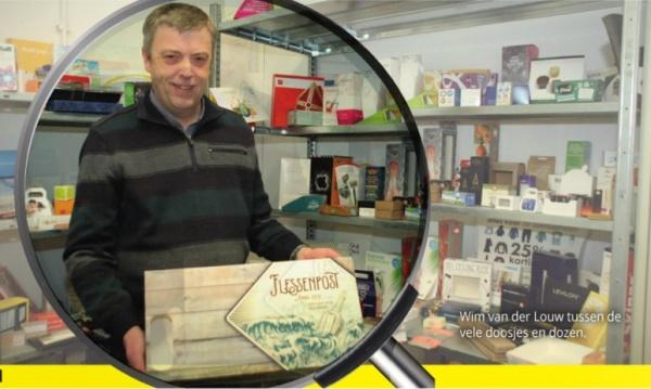 Onder de loep drukkerij van de Louw in de Heraut ,Nieuwsblad voor Lansingerland