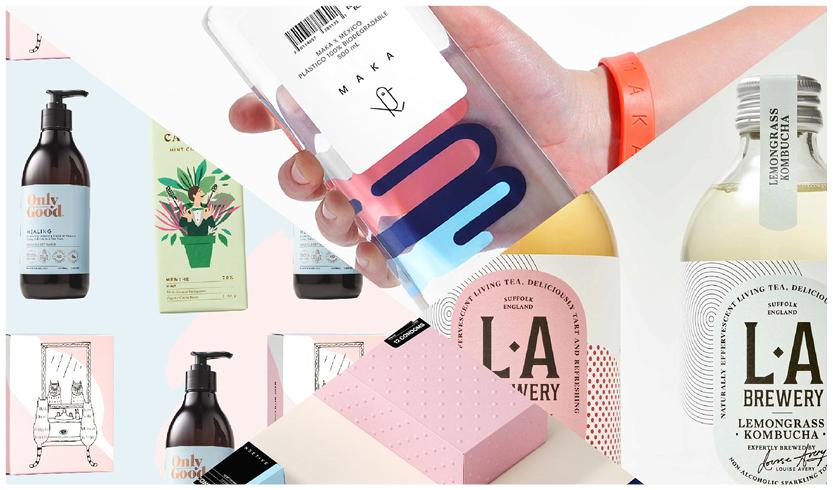 verpakkingen, design trends 2018, basic, kraft, biodegradable, duurzame verpakking, logo ontwerpen 2018, trends 2018!