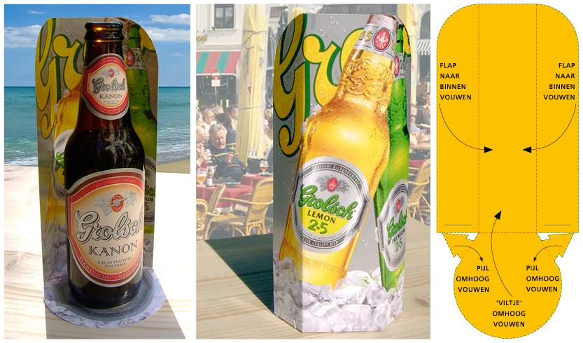 origineel promotieartikel, originele reclame, exclusieve reclame, bierreclame, bier promotie artikel