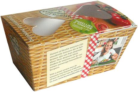 oedselverpakkingen, verpakkingen voor voedsel, voedselgeschikte verpakkingen, verpakking, verpakking tomaten