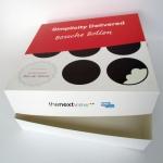 bedrukte doos voor bossche bollen