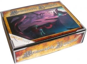 Voorbeeld van een doos voor een game