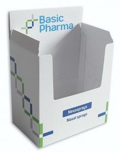 display box displaydoos neusspray bedrukt cosmetica