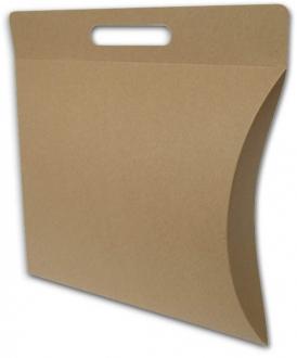 Een gondeldoos/brievenbusdoos voor een mondmasker