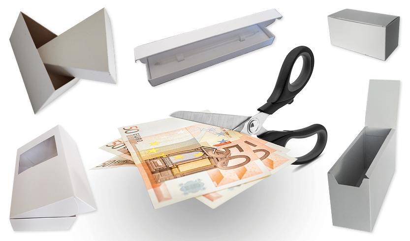 geld besparen op verpakkingen