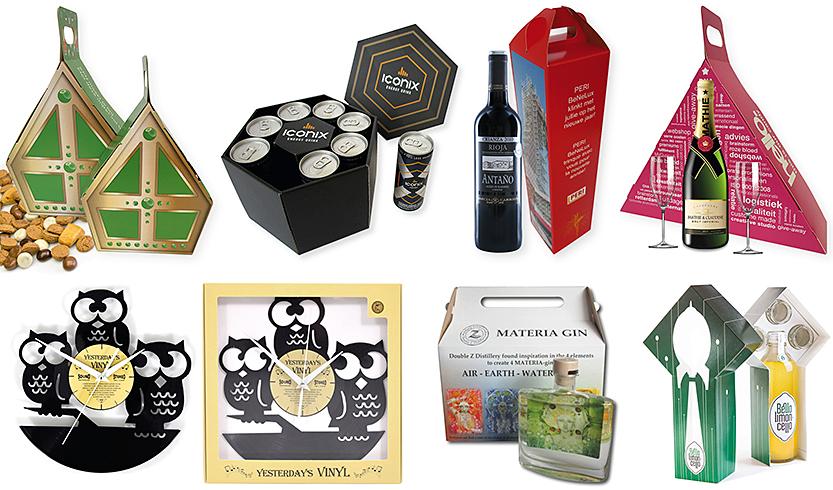 voorbeeld van een doosje op maat laten maken, cadeauverpakkingen