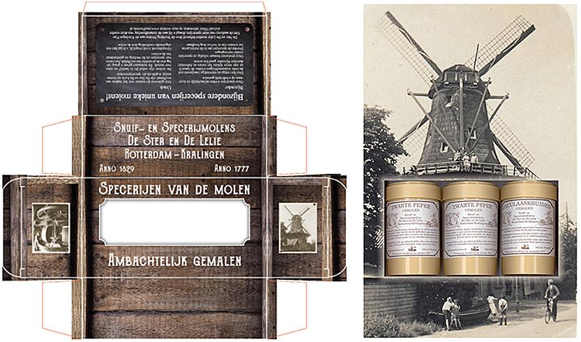 voorbeeld van een doosje op maat laten maken, specerijen