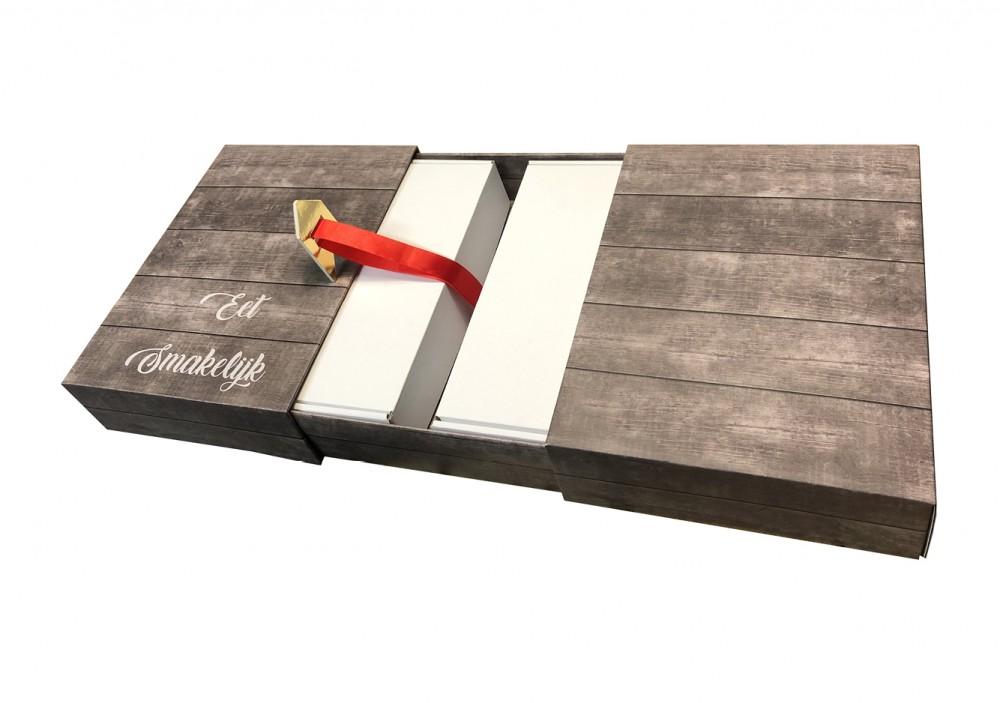 voorbeeld van een tafel, gemaakt van karton